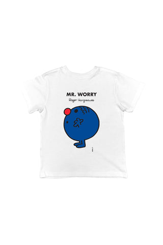 MR. WORRY PERSONALISED CHILDREN'S T-SHIRT