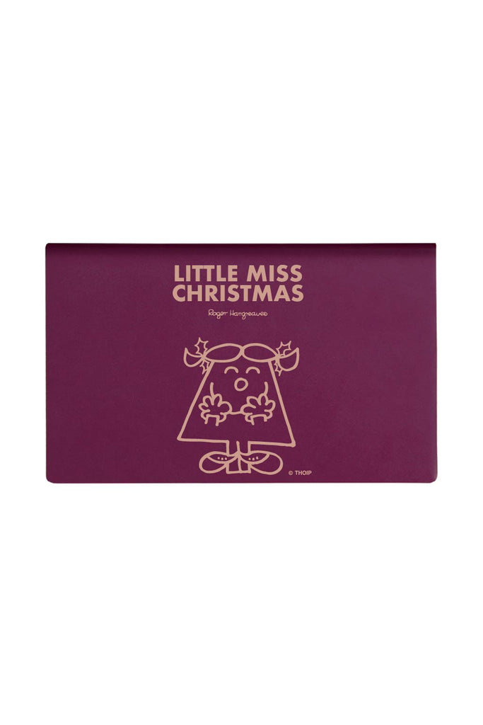 LITTLE MISS CHRISTMAS PERSONALISED CARD HOLDER