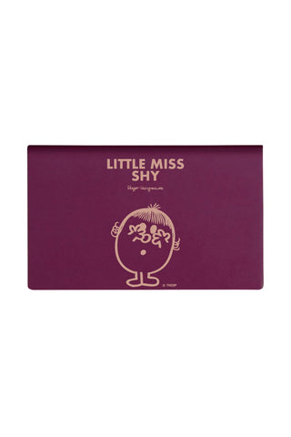LITTLE MISS SHY PERSONALISED CARD HOLDER