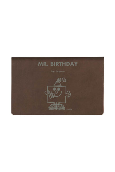 MR BIRTHDAY PERSONALISED CARD HOLDER