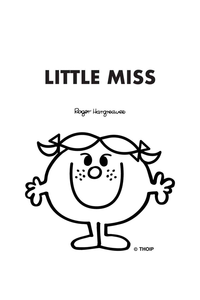 LITTLE MISS BAD PERSONALISED A4 FOLDER