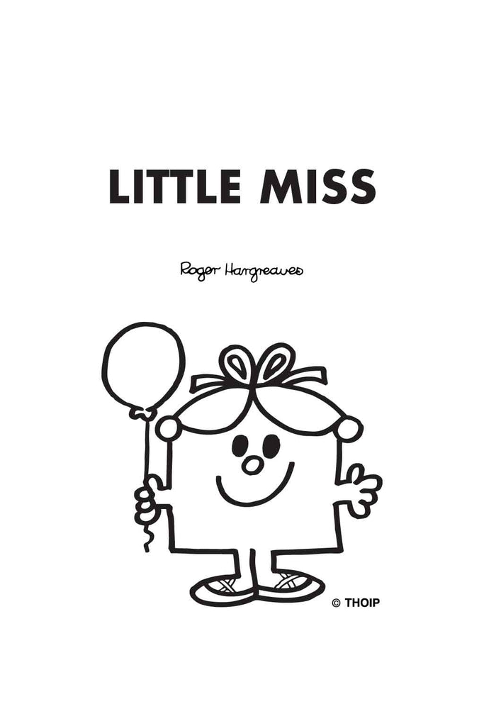 LITTLE MISS BIRTHDAY PERSONALISED A4 FOLDER
