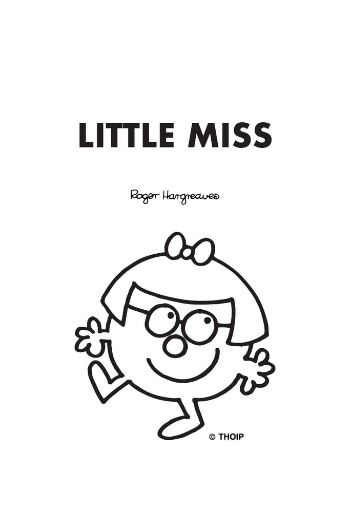LITTLE MISS CONTRARY PERSONALISED A4 FOLDER