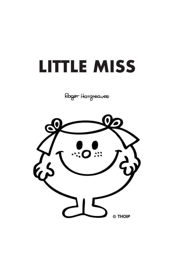 LITTLE MISS GIGGLES PERSONALISED A4 FOLDER