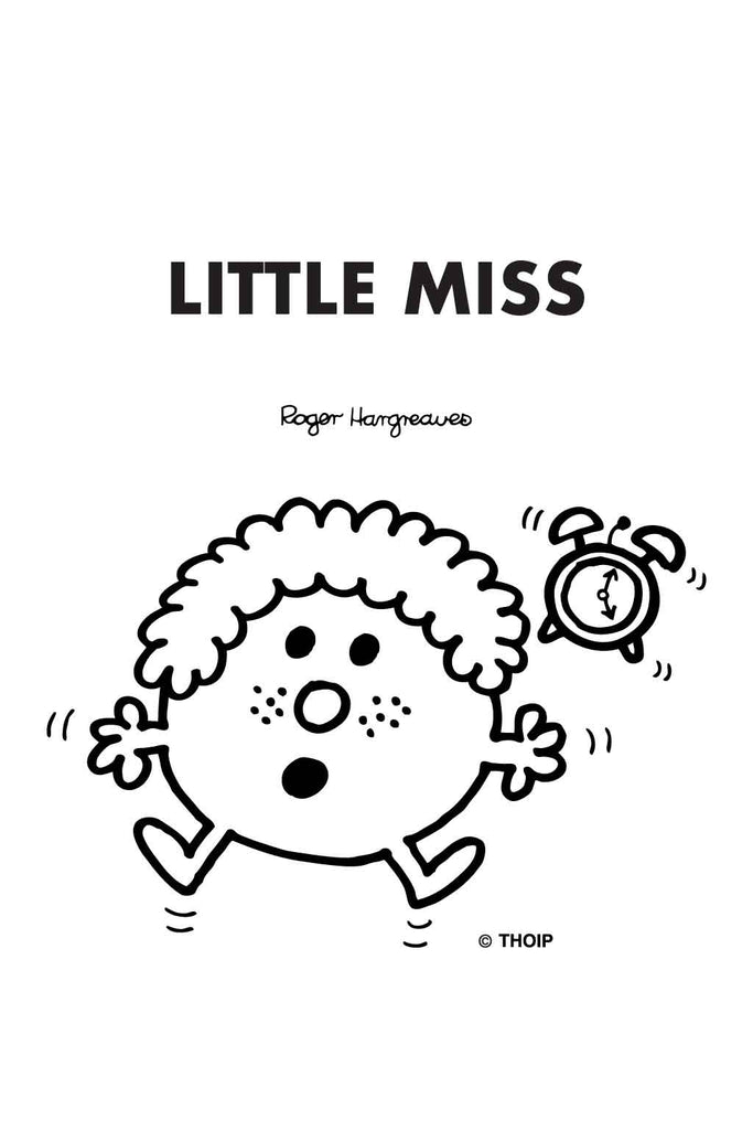 LITTLE MISS LATE PERSONALISED POCKET DIARY