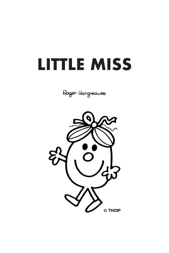 LITTLE MISS QUICK PERSONALISED POCKET DIARY