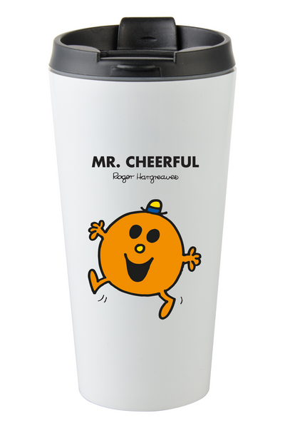 MR. CHEERFUL PERSONALISED COFFEE MUG