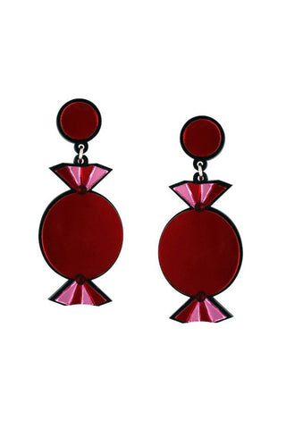 RED QUALITY TREATS EARRINGS