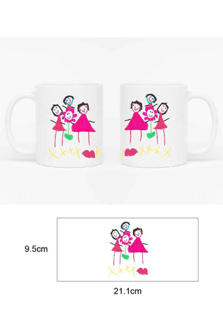 CHILDREN'S ARTWORK MUG