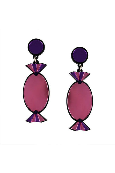 PINK QUALITY TREATS EARRINGS