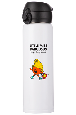 LITTLE MISS FABULOUS PERSONALISED FLASK