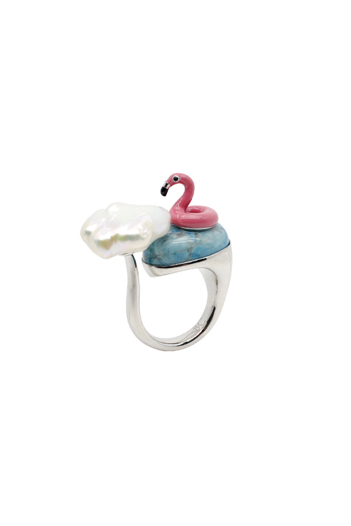 FLAMINGO FLOAT RING