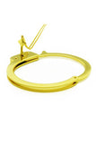 GOLD HANDCUFF BANGLE