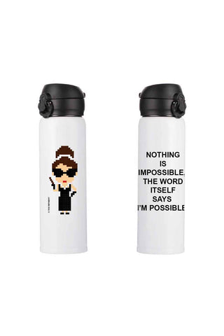 AUDREY FLASK