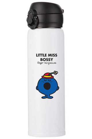 LITTLE MISS BOSSY PERSONALISED FLASK