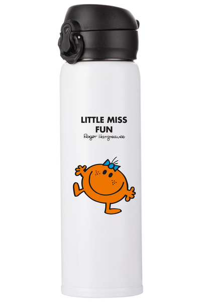 LITTLE MISS FUN PERSONALISED FLASK