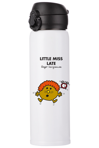 LITTLE MISS LATE PERSONALISED FLASK