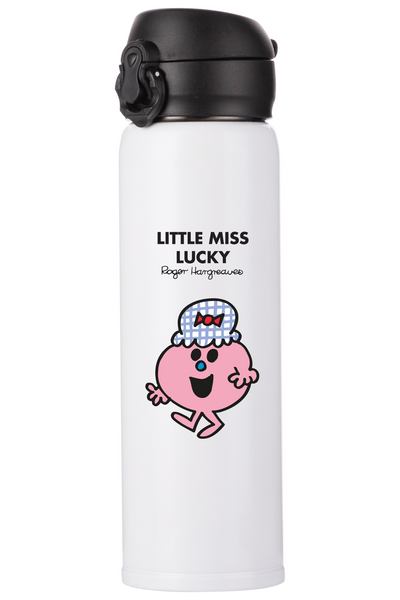 LITTLE MISS LUCKY PERSONALISED FLASK