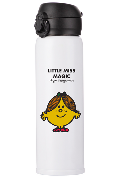 LITTLE MISS MAGIC PERSONALISED FLASK
