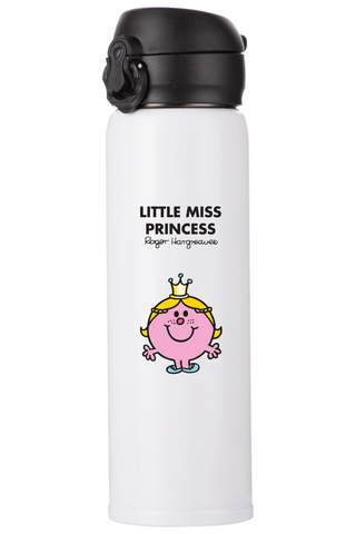 LITTLE MISS PRINCESS PERSONALISED FLASK