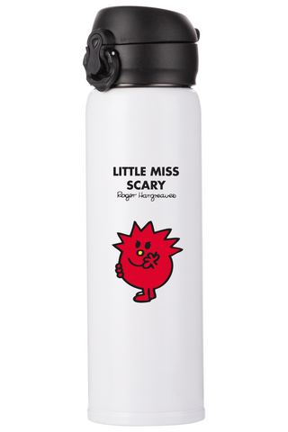 LITTLE MISS SCARY PERSONALISED FLASK