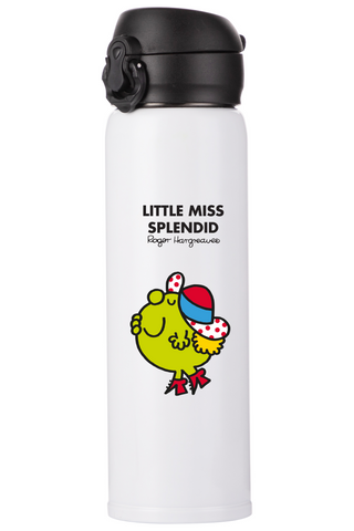 LITTLE MISS SPLENDID PERSONALISED FLASK