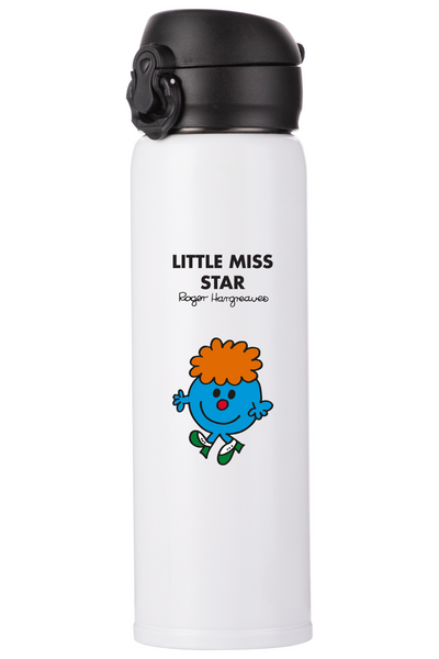 LITTLE MISS STAR PERSONALISED FLASK