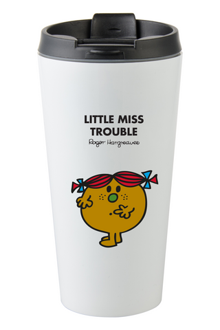 LITTLE MISS TROUBLE PERSONALISED COFFEE MUG