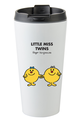 LITTLE MISS TWINS PERSONALISED COFFEE MUG