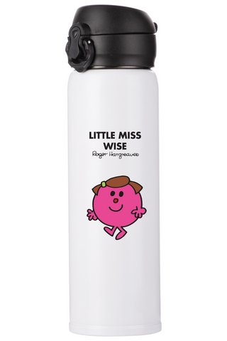 LITTLE MISS WISE PERSONALISED FLASK