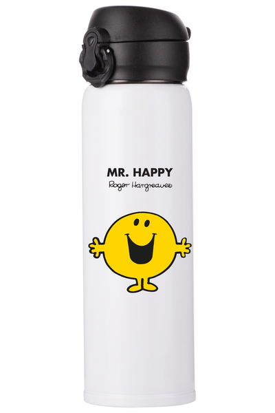 MR. HAPPY PERSONALISED FLASK