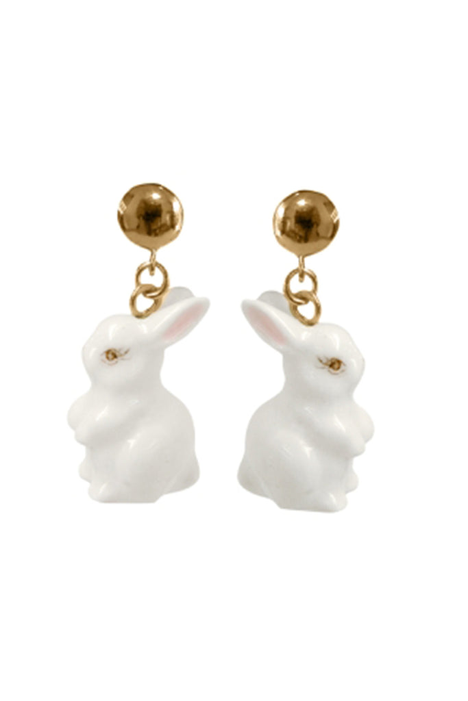 RABBIT DROP EARRINGS