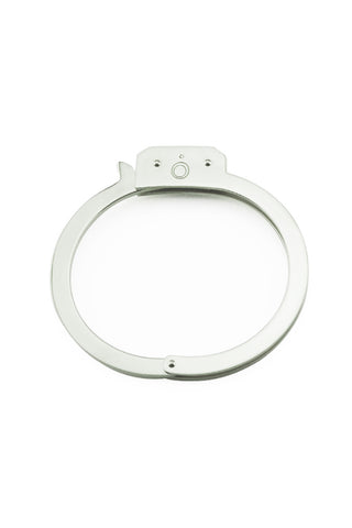 SILVER  HANDCUFF BANGLE