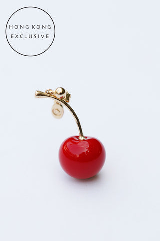 SINGLE CHERRY EARRING