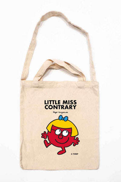 LITTLE MISS CONTRARY PERSONALISED TOTE BAG