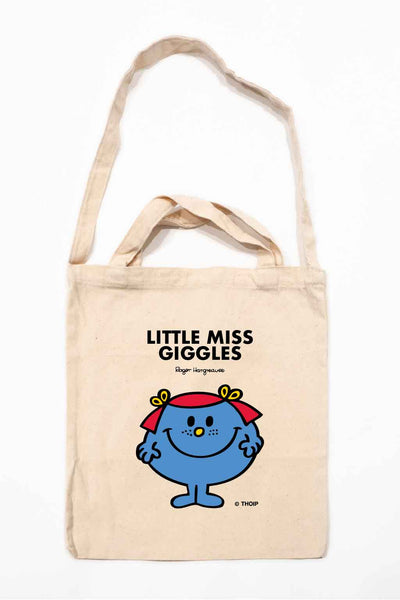 LITTLE MISS GIGGLES PERSONALISED TOTE BAG