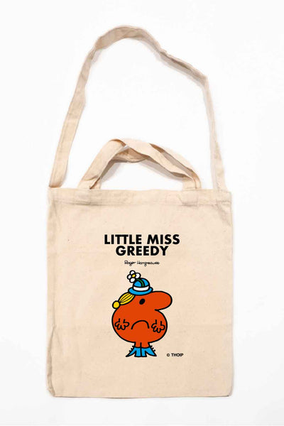 LITTLE MISS GREEDY PERSONALISED TOTE BAG