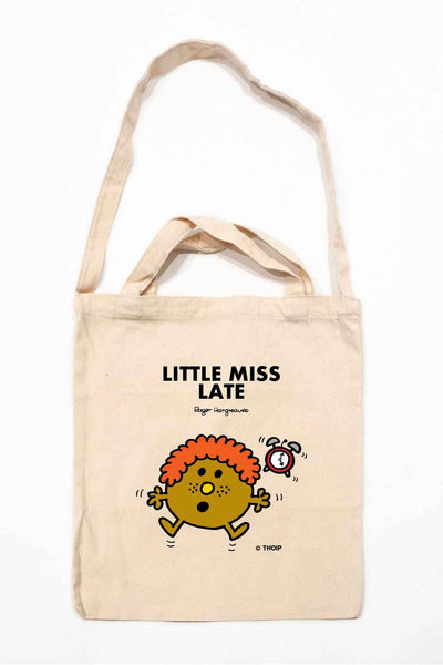 LITTLE MISS LATE PERSONALISED TOTE BAG