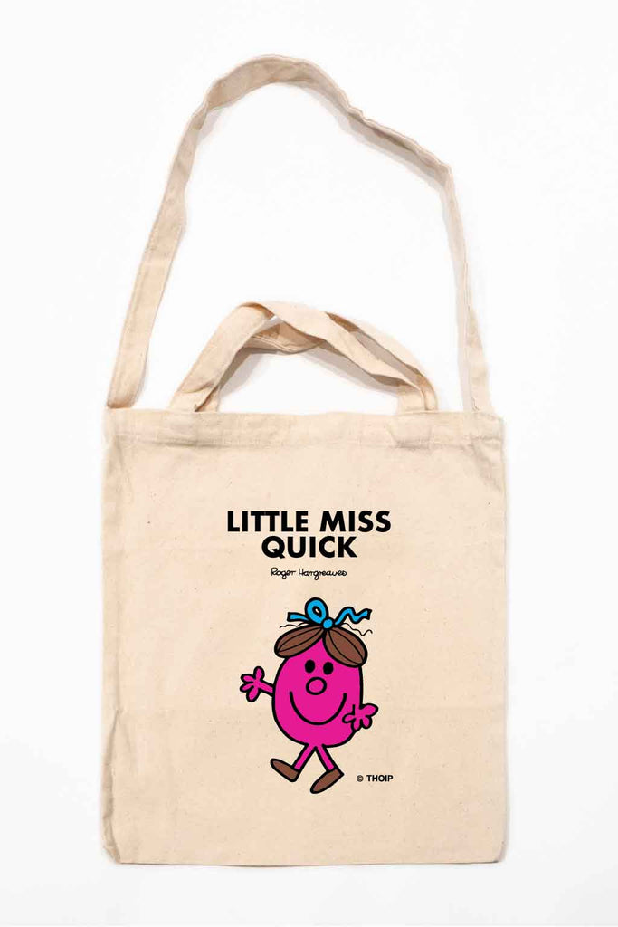 LITTLE MISS QUICK PERSONALISED TOTE BAG