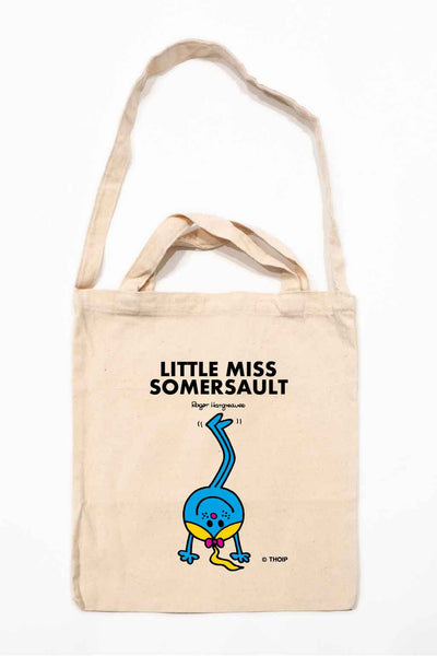 LITTLE MISS SOMERSAULT PERSONALISED TOTE BAG