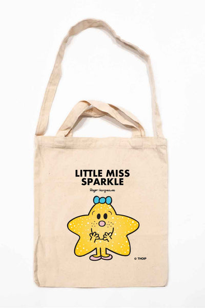 LITTLE MISS SPARKLE PERSONALISED TOTE BAG