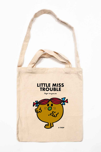 LITTLE MISS TROUBLE PERSONALISED TOTE BAG