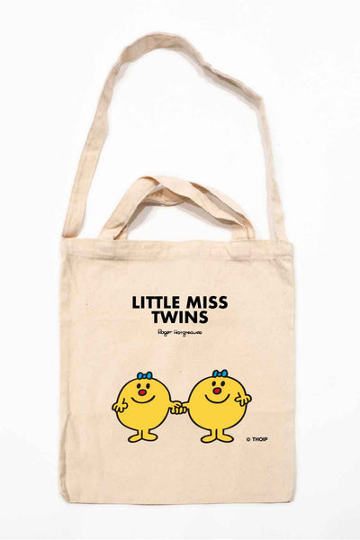 LITTLE MISS TWINS PERSONALISED TOTE BAG