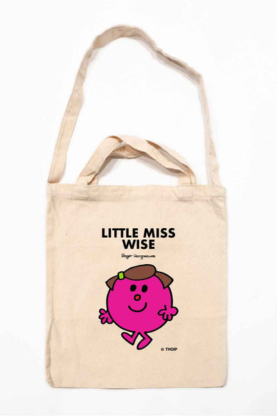 LITTLE MISS WISE PERSONALISED TOTE BAG