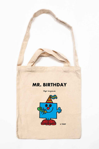 MR. BIRTHDAY PERSONALISED TOTE BAG
