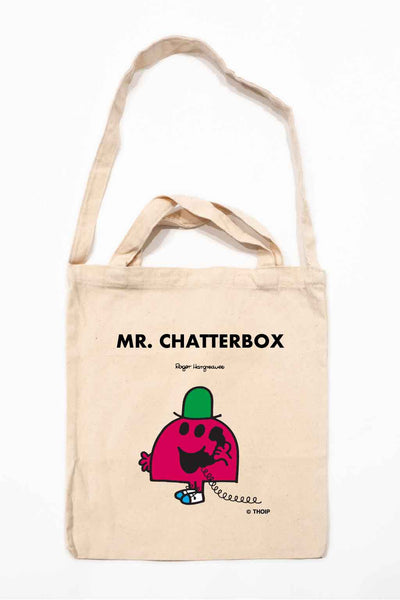 MR. CHATTERBOX PERSONALISED TOTE BAG