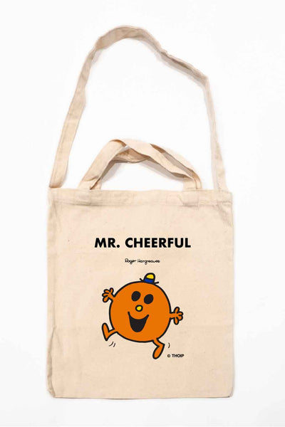 MR. CHEERFUL PERSONALISED TOTE BAG
