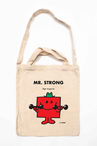 MR. STRONG PERSONALISED TOTE BAG