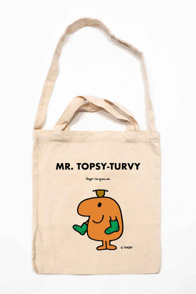 MR. TOPSY-TURVY PERSONALISED TOTE BAG