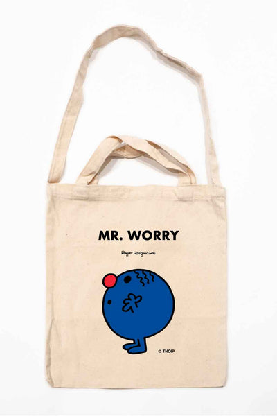 MR. WORRY PERSONALISED TOTE BAG